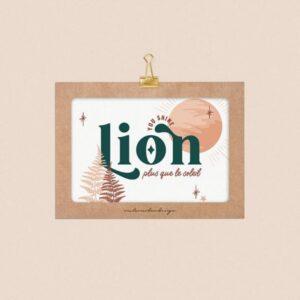 affiche-astro-power-lion