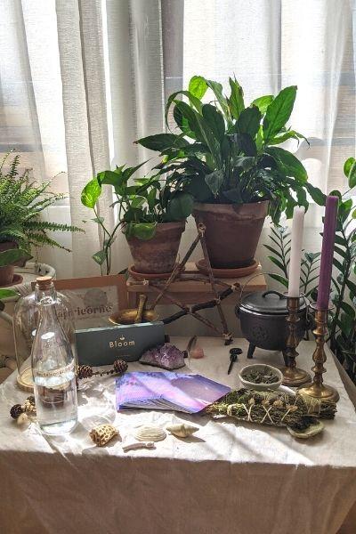 Créer votre autel sacré de sorcière