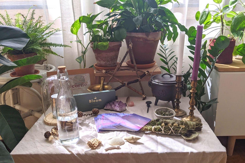 Créer son autel sacré de sorcière
